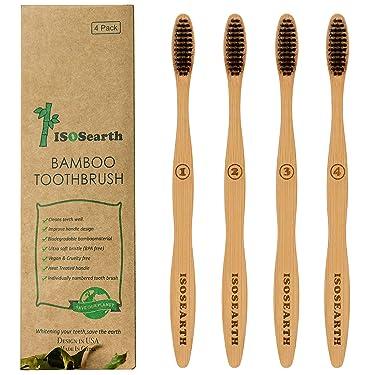 iSoSearth Bamboo Toothbrush