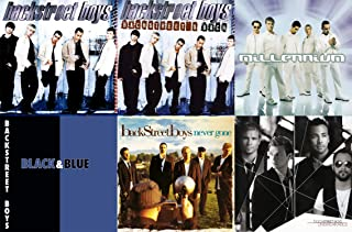 Backstreet Boys: Classic Hits 6 Studio Albums Collection Complete 1996-2007 Discography (Millennium / Black and Blue / Never Gone and More)