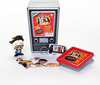 FGTeeV Mini Mystery TV Series 2, Blind Bag Collectible Figure, Photo Reactive Putty, Mini Black Light, Vinyl Stickers, Sur...