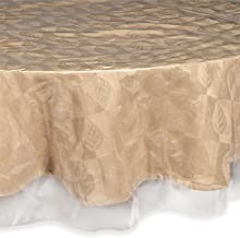 Sweet Home Collection Premium Clear Tablecloth Easy Care Oblong Rectangle Square Round Heavy Restaurant Quality Spill Repe...