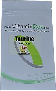 Taurine [1000mg] - 120 Compresse | Sport Supplemento [Taurina]