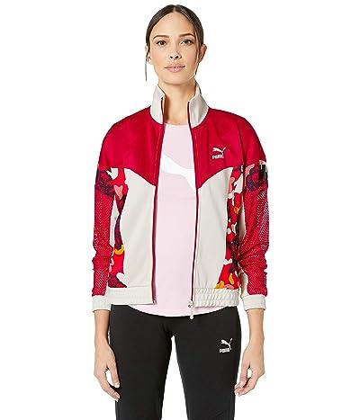 PUMA Flourish Touch of Life Jacket (Cerise) Women