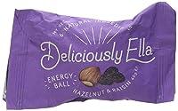 Deliciously Ella  Hazelnut and Raisin Energy Ball, 40 g