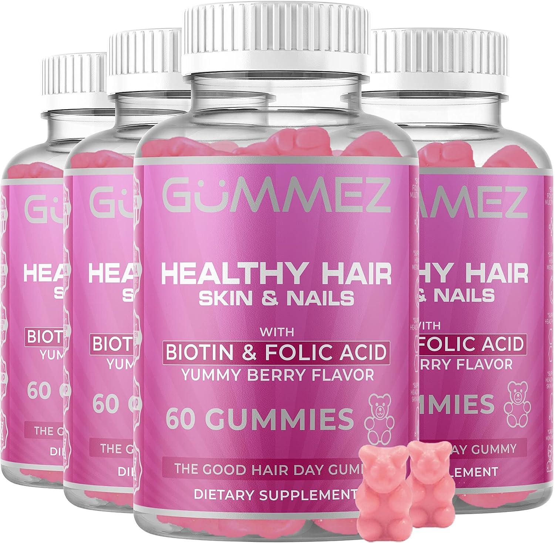 Healthy Hair Skin Nails National products Multi-Vitamin 2 - Bear Max 84% OFF 4-Pack Gummies