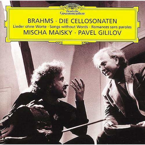 Brahms: Cello Sonata No.1 in E Minor Op.38