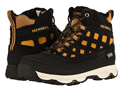 Merrell Kids Thermoshiver 2.0 Waterproof (Little Kid/Big Kid) (Wheat/Black) Boys Shoes