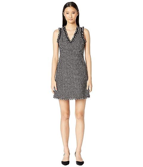 Kate Spade New York Dashing Beauty Houndstooth Tweed Dress