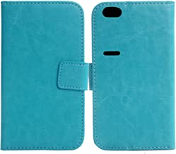 Gukas Color Design PU Wallet Flip Leather with Card Slots Cover Skin Protection Case Shell for Nextbit Robin 5.2