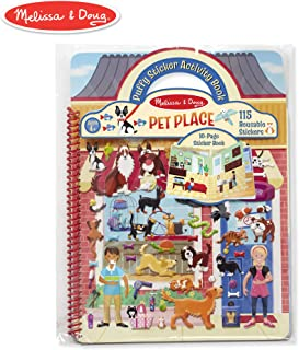 Melissa & Doug Pet Shop Puffy Sticker Set with 115 Reusable Stickers