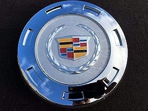 "Tuesnut 2007-2014 Escalade ESV 2007-2013 Escalade EXT Wheel Center HUB Cap Colorful Crest Silver 7-Spoke 22"" Wheels ONLY Replace # 9596649 (1)"