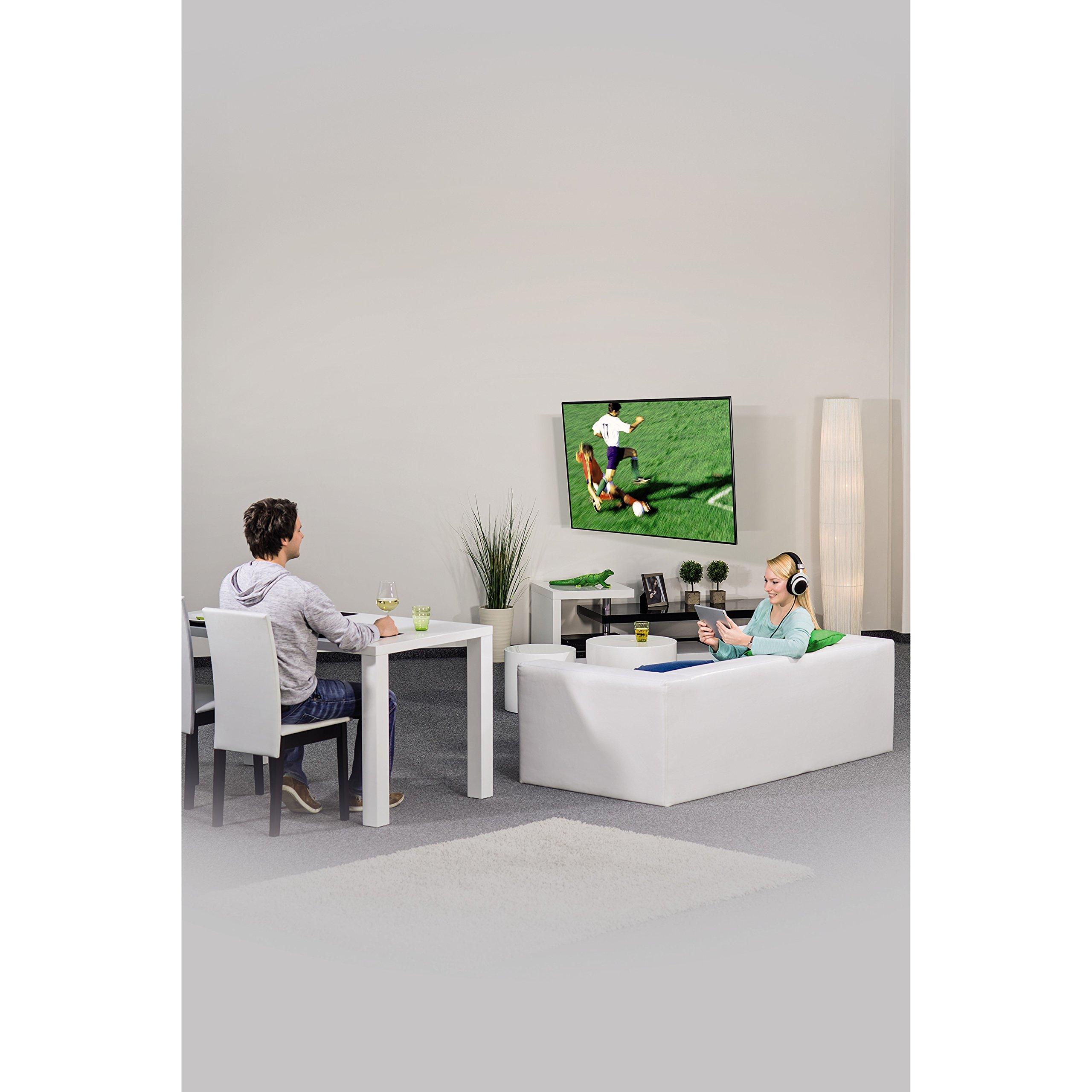 Hama 118619 - Soporte de pared para televisores, para diagonales de pantalla de 81-165 cm (32-65