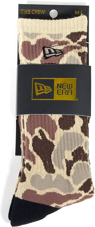 New Era Novelty Crew Socks (M-L (10-13), Ameba Camo)