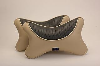 Autofurnish Premium Car Pillow Neck Rest (Hecta-6730) - Set of Two