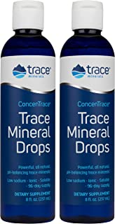 Concentrace Trace Mineral Drops. Magnesium, Chloride, Potassium. Ionic Sea Minerals from the Great Salt Lake in Utah. Hydr...