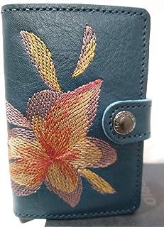 1b9f13983f0 Secrid, Porte-Cartes Miniwallet Stitch Magnolia Petrolio