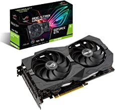 ASUS ROG Strix GeForce GTX 1660 Super Advanced 6GB Edition GDDR6 HDMI 2.0 DP 1.4 Gaming Graphics Card (ROG-STRIX-GTX1660S-...