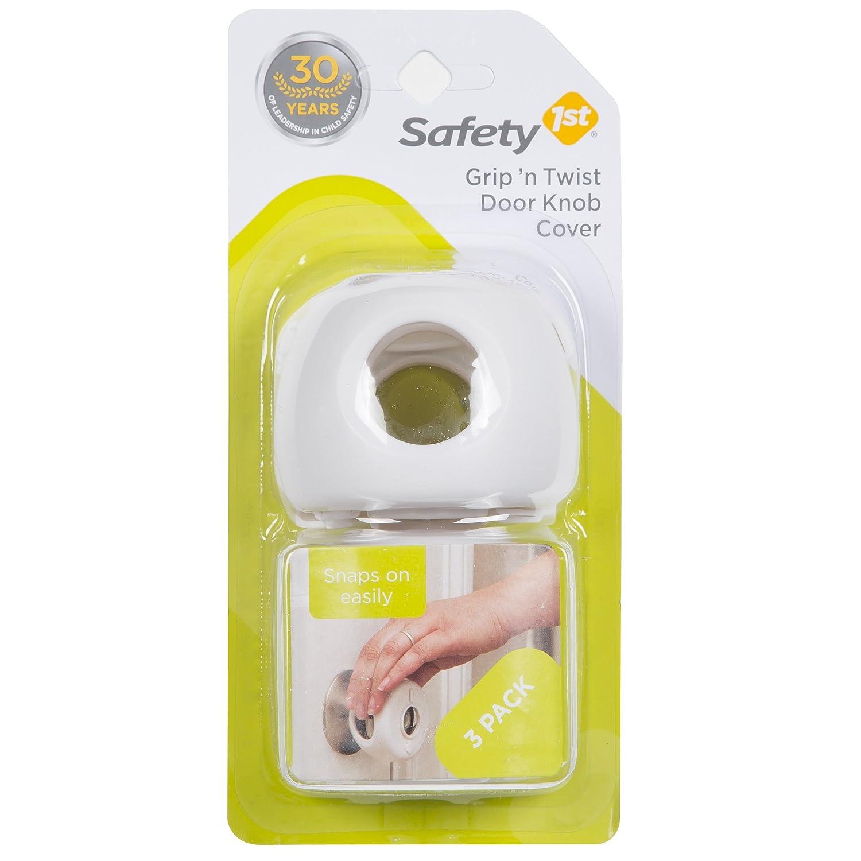 Safety 1st Grip N Twist Door Knob Covers, 3 Count