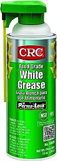 CRC Food Grade White Grease, 10 oz Aerosol Can, White, Model:03038