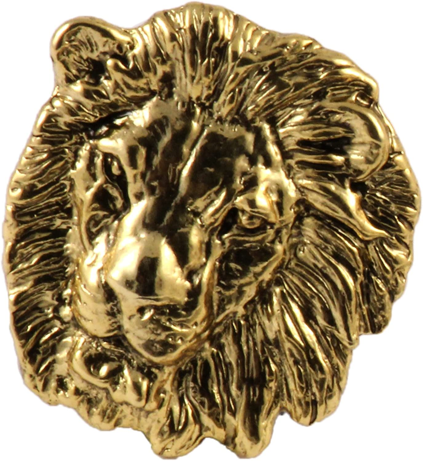 Handcrafted Big Cat Brooch and Lapel Pins - Cheetah, Leopard, Lion, Tiger, Bobcat, Lynx, Mountain Lion, Cougar - Pewter, Copper, Gold, Painted - Made in USA