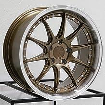 18x8.5 Aodhan DS07 DS7 5x114.3 35 Bronze Wheel Rim