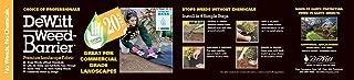 Dewitt 3-by-100-Feet 4.1-Ounce 20-Year Weed Barrier Fabric