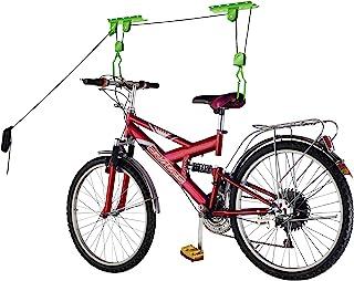 Bike Lane Products Bicycle Hoist Quality Garage Storage Bike Lift with 100 lb Capacity Even Works as Ladder Lift Premium Q...