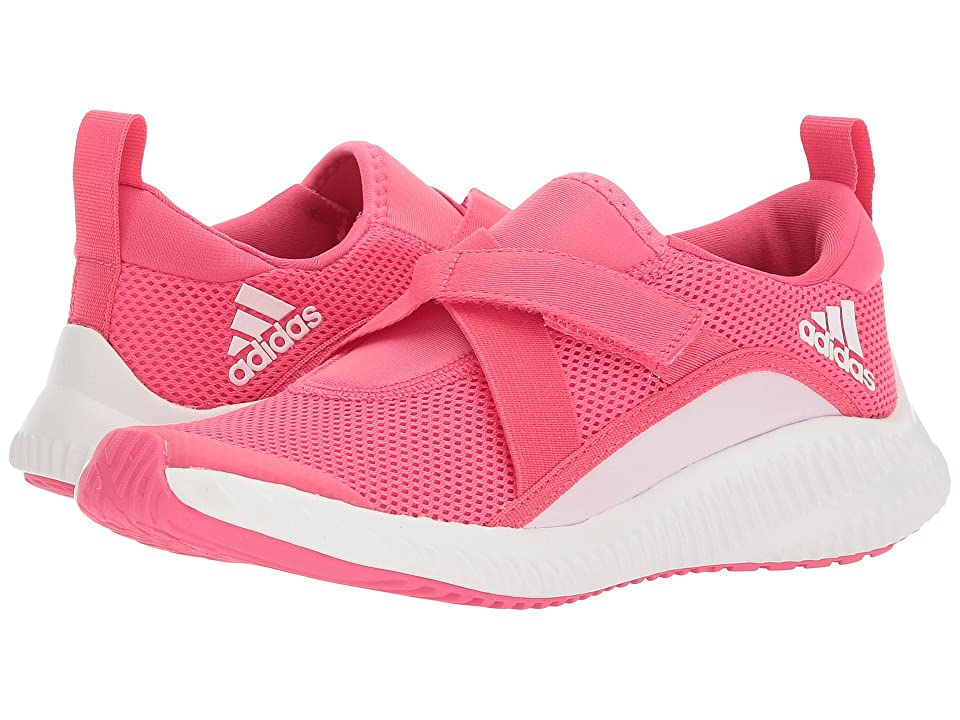 adidas Kids FortaRun X CF (Little Kid/Big Kid) (Chalk Blue/Aero Pink/White) Girls Shoes