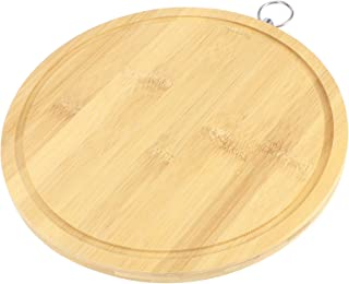 【Christmas Revels】Dough Board, Bamboo Durable Kitchen Cutting Board, for Food Preparation Home(Diameter 28.0*thickness 1.7cm)