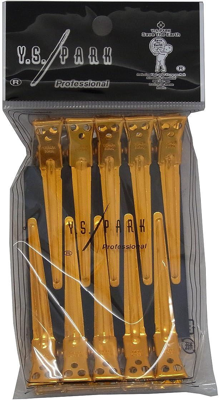 縞模様の約設定塩辛いY.S.PARK クリップM ゴールド