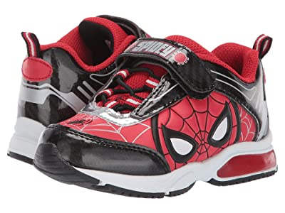 Favorite Characters Spider-Mantm Lighted SPS383 (Toddler/Little Kid) (Red) Boys Shoes