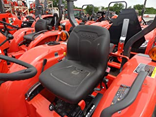 Durafit Seat Covers, Kubota Tractor L3301,L3901,L4701 in Graphite Twill