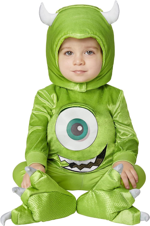 Spirit Halloween Baby Monsters Mike Inc. Costume Wazowski New Super intense SALE Free Shipping