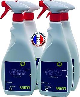 Détergent virucide toutes surfaces 750ml EN14476 par carton de 4 sprays - Promotion spéciale, livraison offerte