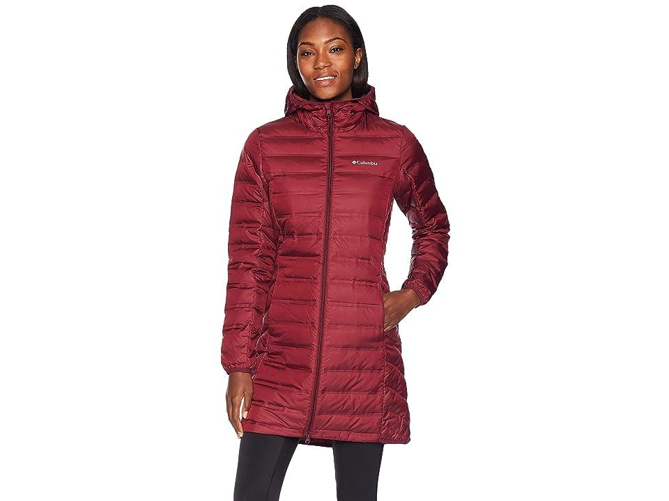 Columbia Lake 22 Long Hooded Jacket (Rich Wine) Women