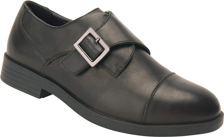 Drew Shoe Men's Canton Black Fashion Oxfords 10 W