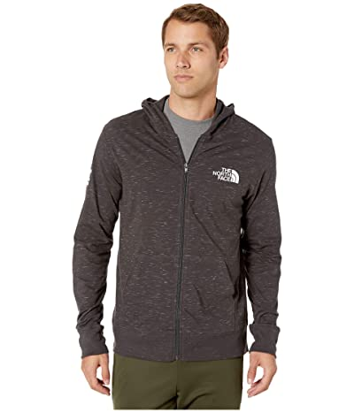 The North Face Boxed Out Injected Full Zip (TNF Dark Grey Heather/TNF White) Men