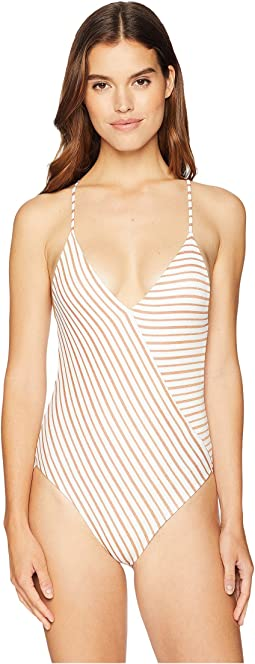 Horizon Stripe Blair One-Piece