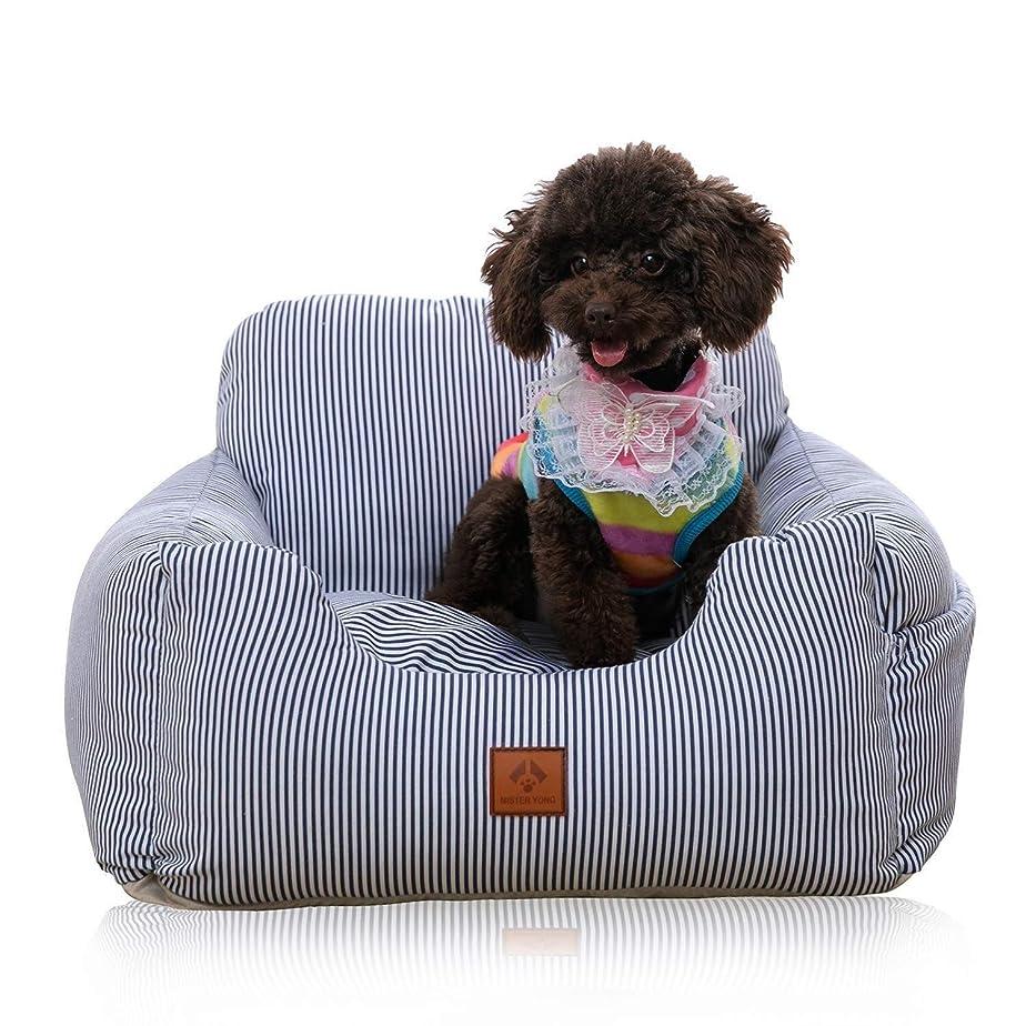 期待するオーロック成功するJSFQ 犬用カーシート、車用犬ブースターシート/小中型犬と猫用のペットペットキャリアキャリアプロテクターカバー、最大30ポンドのシートベルト付き (Color : D)