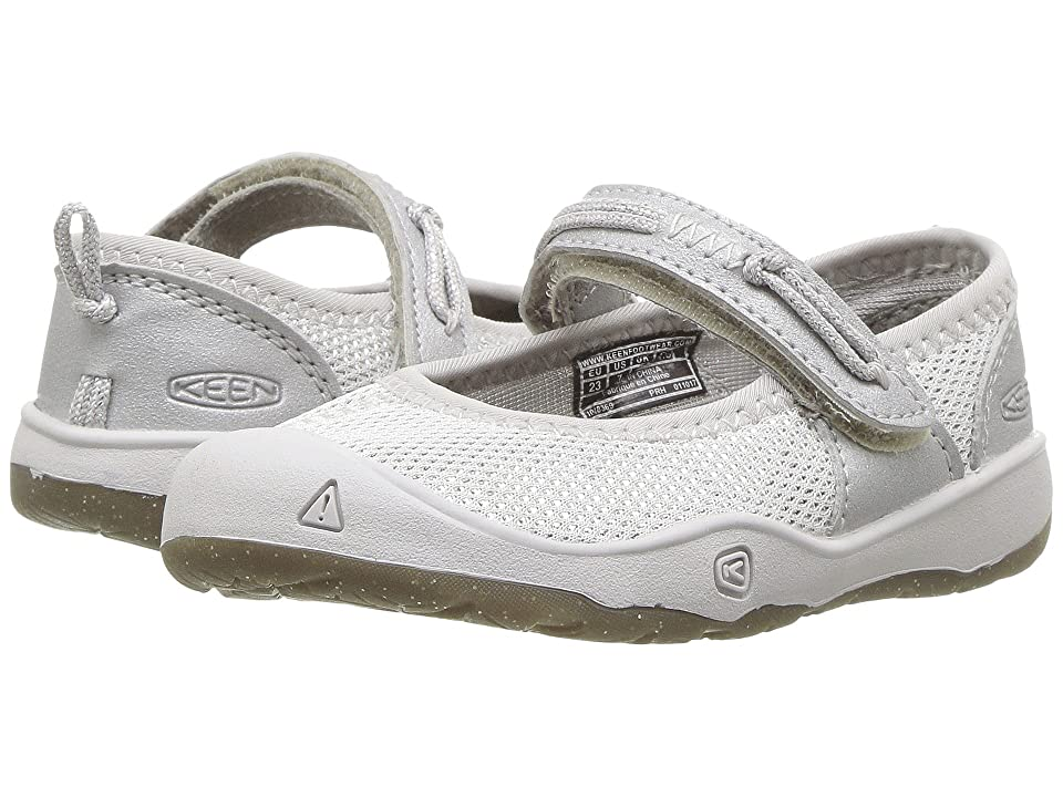Keen Kids Moxie Mary Jane (Toddler) (Silver) Girls Shoes