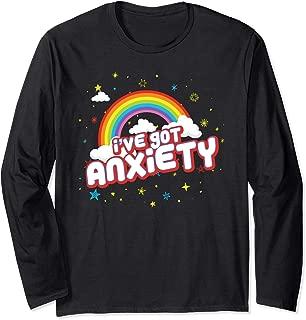 Funny I've Got Anxiety Long-Sleeve Shirt for Girls Boys