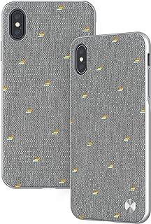 Moshi Vesta Slim Hardshell Case for iPhone Xs Max - Gray