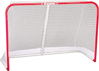 Franklin Sports Hockey Goal - NHL - Steel - 72 x 48 Inch - 1.5 Inch Tubing