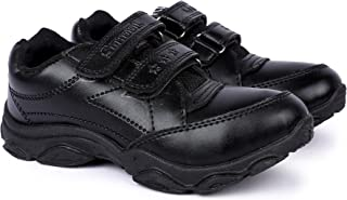 Vonc Black Superlight School Shoes for Boys and Girls (3-15 Years)