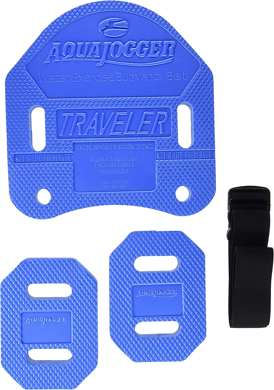 AquaJogger Traveler Over item handling ☆ Low price Belt - Blue