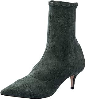 Sempre Di Women's NEREA Stretch Kitten Heel Boot