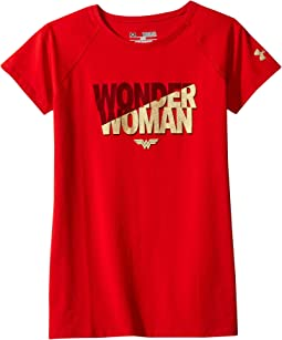 Under Armour Kids - UA Wonder Woman Short Sleeve Tee (Big Kids)