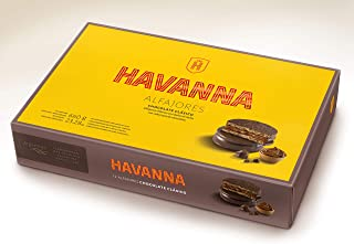 HAVANNA-Alfajor de chocolate- 12 unidades 660 grs