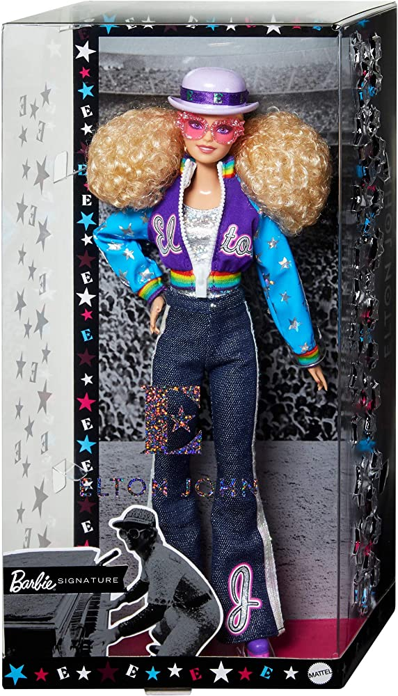 Barbie, bambola di elton john da collezione GHT52