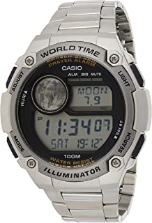 Casio Watch for Men,Digital,Stainless Steel,CPA-100D-1AVDF