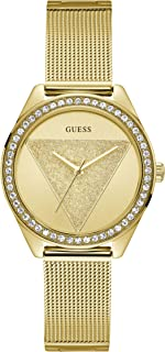 Guess Womens Quartz Watch, Analog Display and Stainless Steel Strap W1142L2